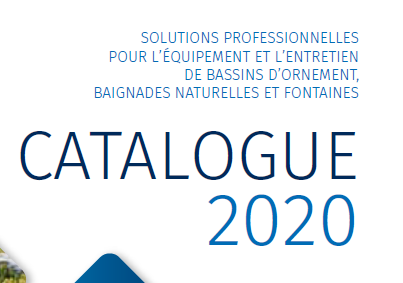 Catalogue Bassin 2020